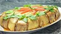 Вкусный рецепт, Торт из Баклажанов Запеченный в Духовке! Закусочный торт